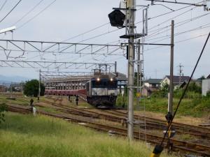 美濃赤坂発臨専用8784列車