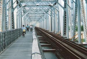 赤川仮橋淡路方より2002年5月頃
