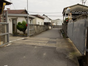 矢橋大理石専用線跡1