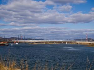 山陽新幹線加古川橋梁