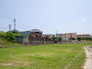 加古川旧河道合流付近