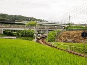 HAPPY TRAIN上り急行