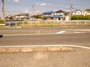 東田本線線路の終端
