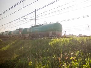 根岸線石油輸送列車