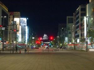 ライトアップ姫路城