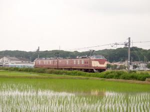 クモヤ443系社町駅付近