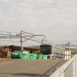 神鉄市場駅搬入6500系6501