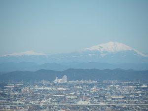 御岳山と乗鞍岳