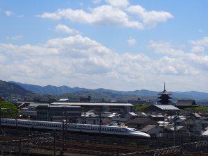 東寺とN700A