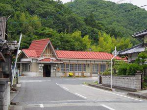 吉ヶ原駅駅舎