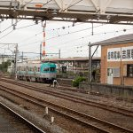 岳南電車吉原駅と7000形電車