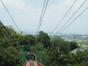 男山ケーブルから洛西方向