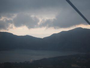 芦ノ湖と駿河湾