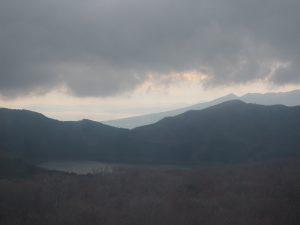 芦ノ湖と静岡方面