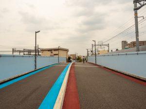 明石川橋梁遊歩道