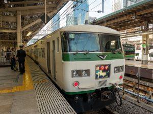 185系踊り子東京駅